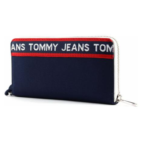 Tommy Hilfiger granatowy portfel TJW Logo Tape LRG Za Wallet CB