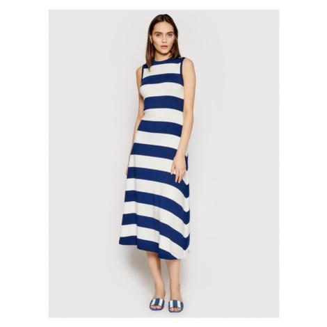 Polo Ralph Lauren Sukienka codzienna 211827941001 Niebieski Regular Fit