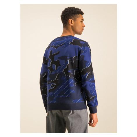 Calvin Klein Jeans Bluza J30J314191 Granatowy Regular Fit