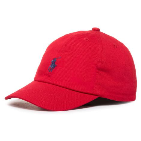 Czapka z daszkiem POLO RALPH LAUREN - Clsc Cap 323552489003 Red