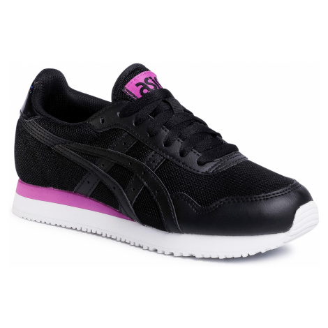 Sneakersy ASICS - Tiger Runner 1192A188 Black/Black 001