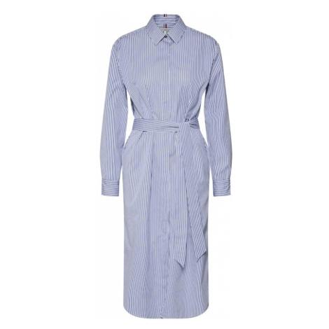 495b01b0b041d -20 % TOMMY HILFIGER Sukienka koszulowa  ESSENTIAL SHIRT DRESS  niebieski    jasnoniebieski