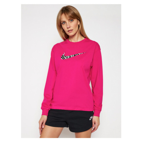 Nike Bluza Sportswear Icon Clash DC5294 Różowy Loose Fit