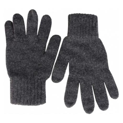 Zwillingsherz Rękawiczki z krótkimi palcami ciemnoszary
