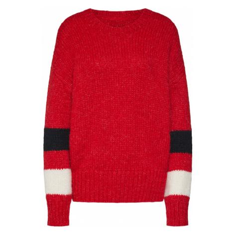Herrlicher Sweter 'Karina Fleece Wool' czerwony