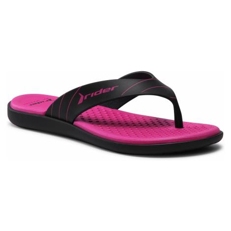 Japonki RIDER - Aqua II Thong Fem 83089 Black/Black/Pink 22567