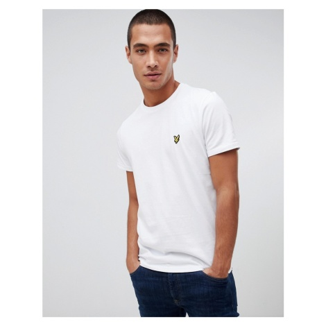Lyle & Scott logo t-shirt in white