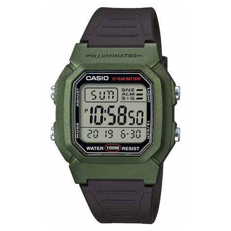 Zegarek CASIO - W-800HM-3AVEF Black/Green