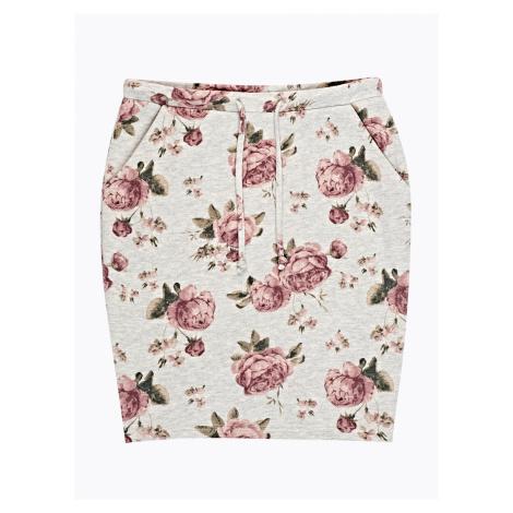 GATE Spódnica mini z nadrukiem kwiatowym