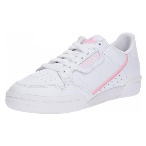ADIDAS ORIGINALS Trampki niskie 'Continental 80' biały / różowy pudrowy