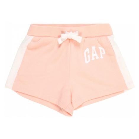 GAP Spodnie 'ARCH' koralowy / biały