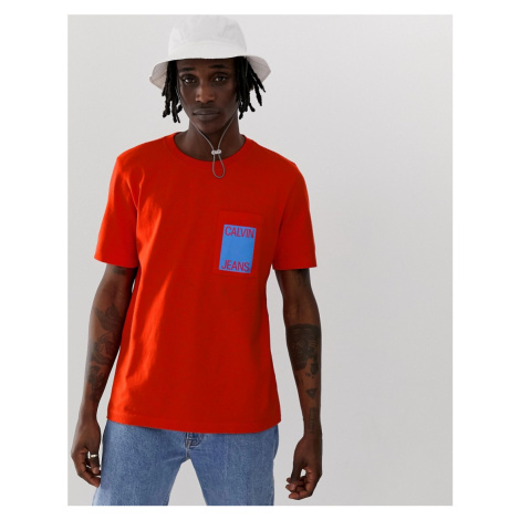 Calvin Klein Jeans logo pocket t-shirt