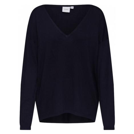 ICHI Sweter 'MAFA V LS2' czarny