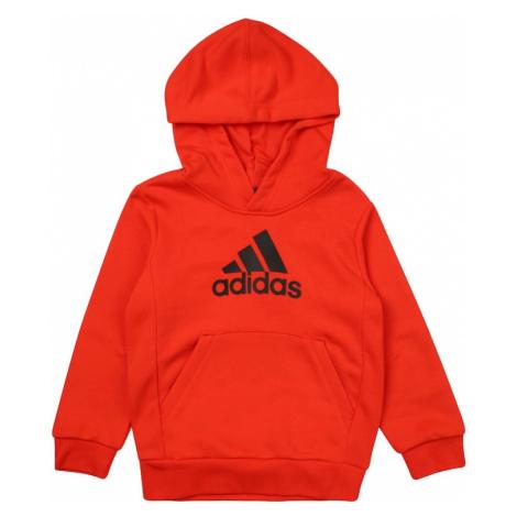 ADIDAS PERFORMANCE Bluza sportowa czarny / jasnoczerwony