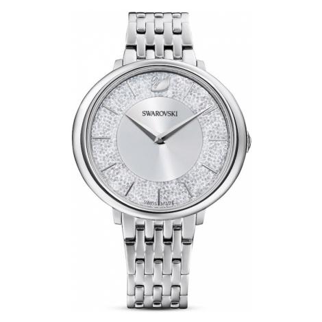 Swarovski Zegarek analogowy srebrny