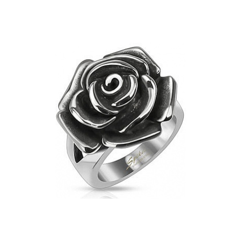 pierścionek Body Art R-Q8064 - Rose Stainless Steel