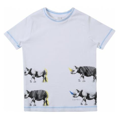 ESPRIT Koszulka jasnoniebieski / biały