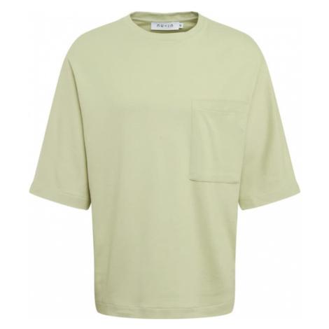 NU-IN Koszulka 'Oversized' jasnozielony