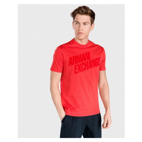 Armani Exchange Koszulka Czerwony