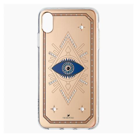 Etui na smartfona Tarot Eye, iPhone® XS Max, różowe złoto Swarovski