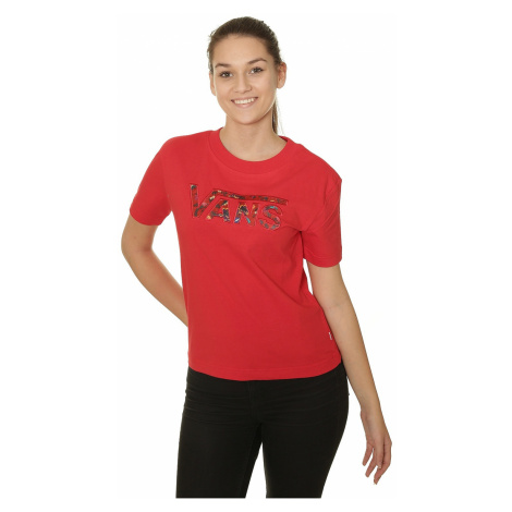 koszulka Vans Outshine - Racing Red