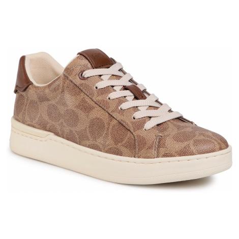 Sneakersy COACH - Lowline Luxe Sig G5061 TN2 Tan