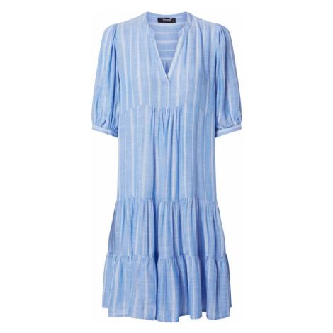SISTERS POINT Sukienka 'Ibon' niebieski / biały