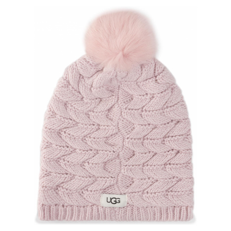 Czapka UGG - Cable Hat With Pom 18756 Pcry