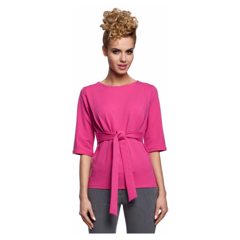 Made Of Emotion Woman's Blouse M287 Fuchsia