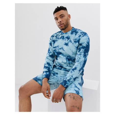 Another Influence tie dye sweat jumper co-ord