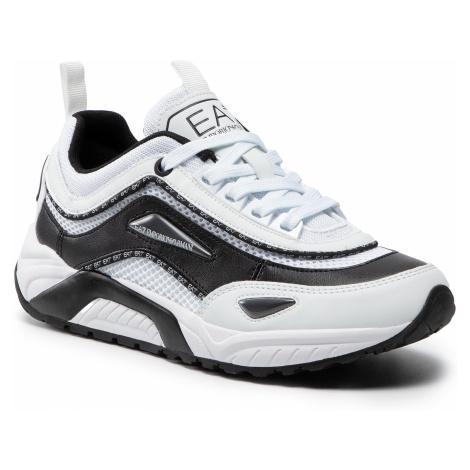 Sneakersy EA7 EMPORIO ARMANI - X8X061 XK198 N422 Opt.Wht/Black