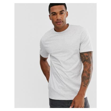 River Island slim fit t-shirt in grey