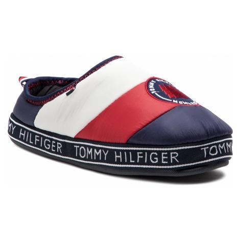 Kapcie TOMMY HILFIGER - Mountain Patch Downslipper FM0FM02005 Rwb 020