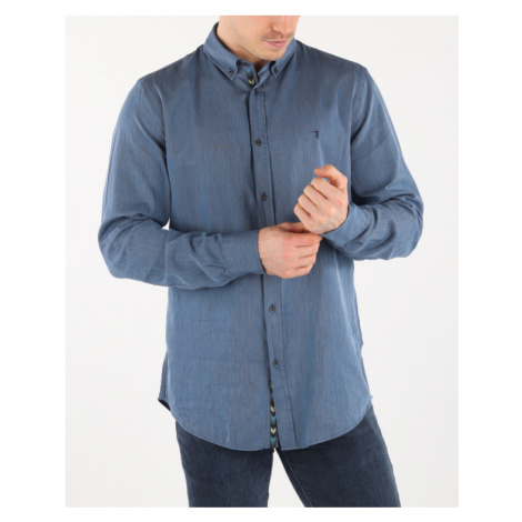 Trussardi Jeans Koszula Niebieski