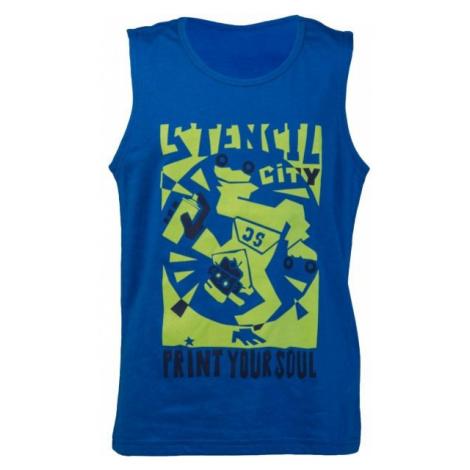 Lewro ORESTES niebieski 152-158 - Koszulka chłopięca