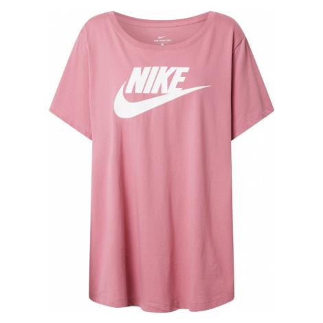 Nike Sportswear Koszulka biały / fioletowy