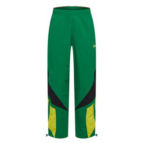 Reebok Classic Spodnie kolory błotniste / żółty / zielony