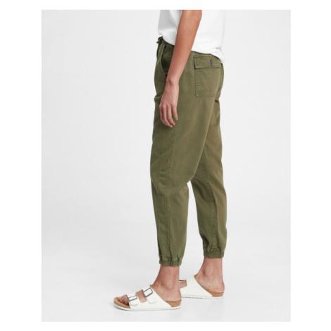 GAP Spodnie Zielony