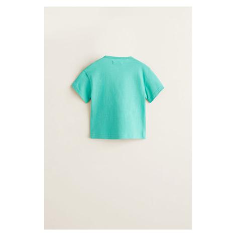 Mango Kids - T-shirt dziecięcy 80-104 cm