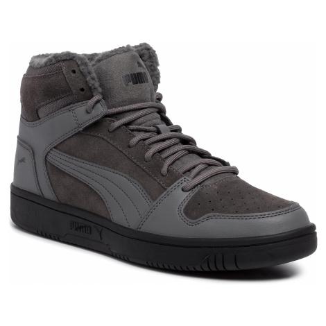Sneakersy PUMA - Rebound LayUp SD Fur 369831 02 Casterock/Puma Black