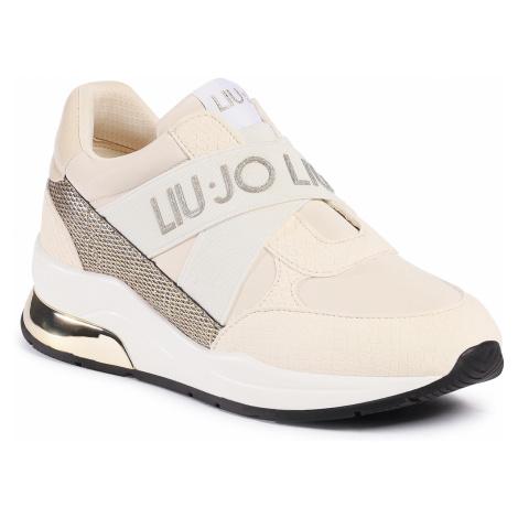 Sneakersy LIU JO - Karlie 160 4F0789 EX072 Milk S1400