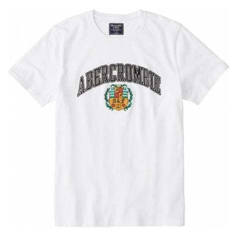 Abercrombie & Fitch Koszulka 'SS ELEVATED TECH' biały