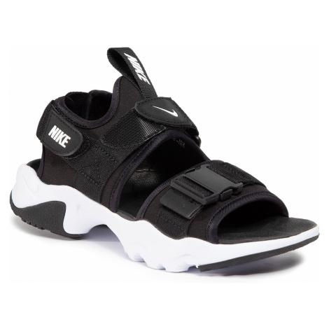 Sandały NIKE - Canyon Sandal CV5515 001 Black/White/Black