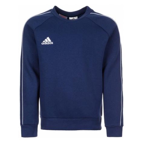 ADIDAS PERFORMANCE Bluza sportowa 'Core 18 Sw' ciemny niebieski / biały