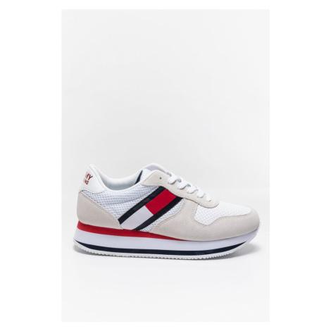 Buty Tommy Jeans Sneakeryflatform Runner En0En01357Ybr White/red/navy Tommy Hilfiger