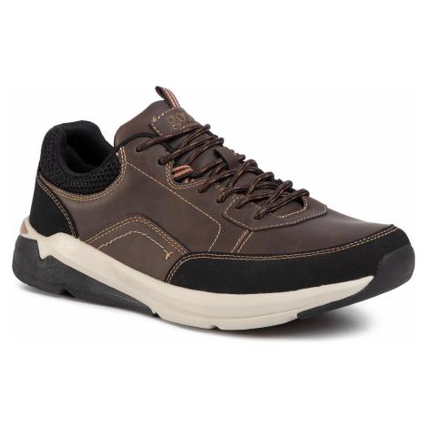 Sneakersy GO SOFT - GF19F273A-6 Brown