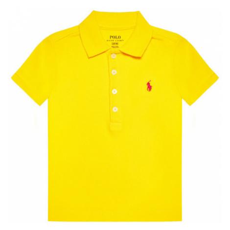 Polo Ralph Lauren Polo Ss Polo 312698589087 Żółty Regular Fit