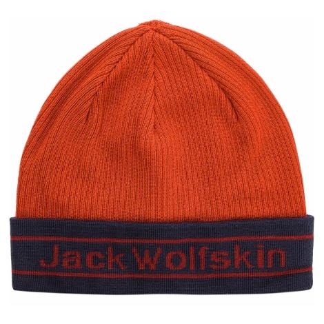 Czapka JACK WOLFSKIN - Pride Knit Cap 1907261 Mexican Pepper