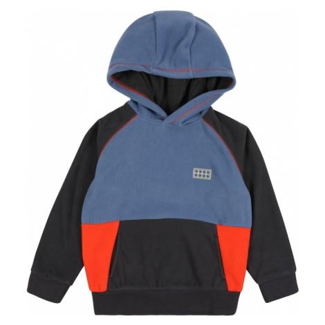LEGO WEAR Bluza 'Sinclair' neonowa pomarańcza / podpalany niebieski / niebieska noc