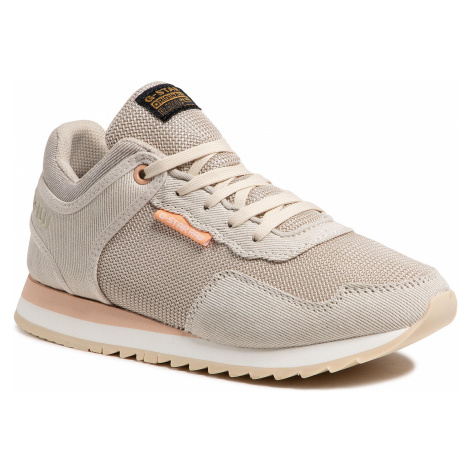 Sneakersy G-STAR RAW - Calow D19593-C511-159 Ecru